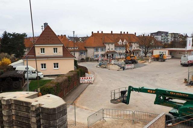 Seit Jahren lebt Familie Jurkschat in Haltingen an einer Großbaustelle