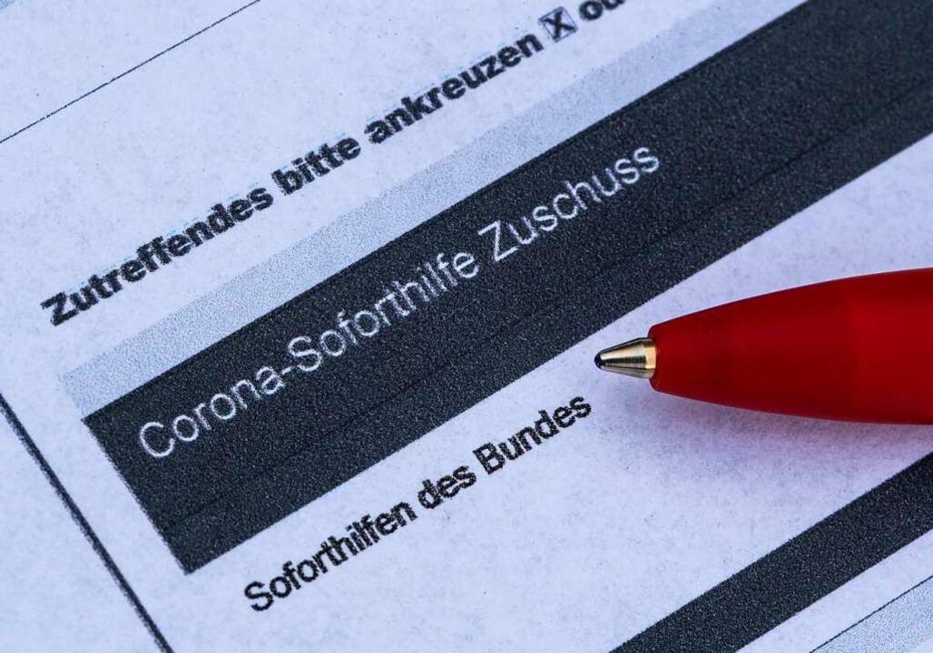 Soforthilfe Corona Baden Württemberg Auszahlung