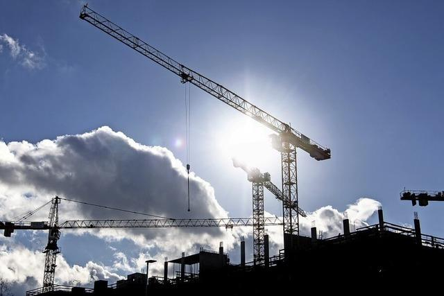 Mehr Baugenehmigungen trotz Krise