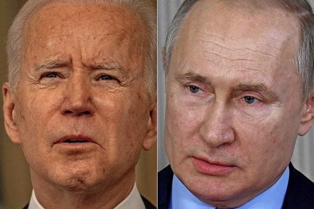 Biden hält Putin für einen