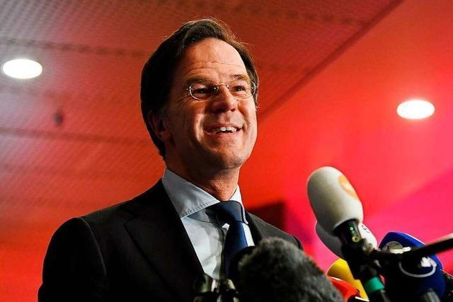 Rechts- und Linksliberale siegen in den Niederlanden