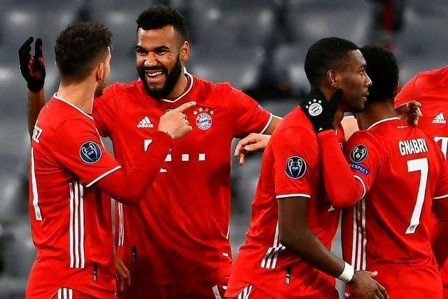 FC Bayern zieht ins Viertelfinale ein und freut sich auf Auslosung