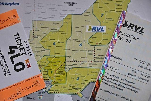 Der Tarif des Regio Verkehrsverbunds Lörrach hat Optimierungspotenzial