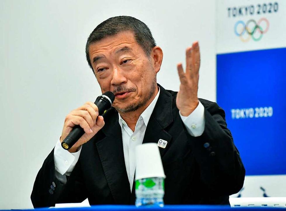 Hiroshi Sasaki tritt zurück.  | Foto: KAZUHIRO NOGI (AFP)