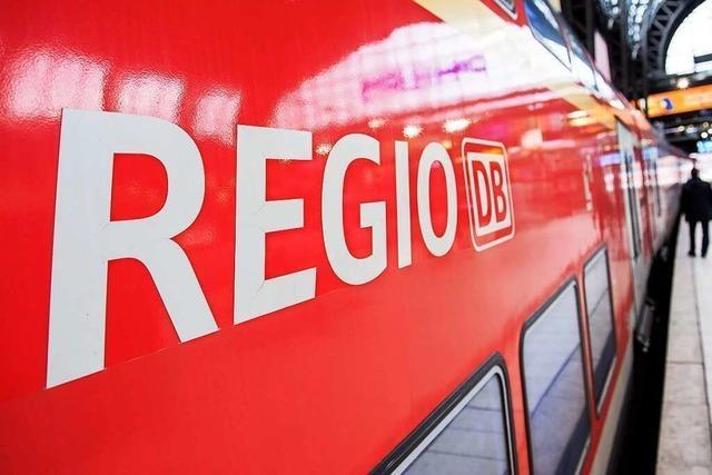 Notarzteinsatz: Strecke zwischen Freiburg und Bad Krozingen wieder freigegeben