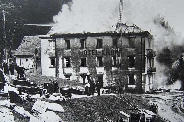 Seit 100 Jahren diskutiert St. Blasien über den Wiederaufbau des Hotel Krone