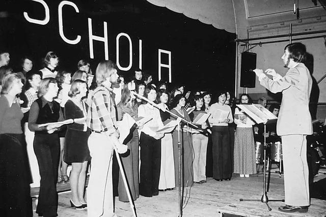 Tonaufnahmen des Herbolzheimer Popchor Modern Schola gibt es jetzt digital