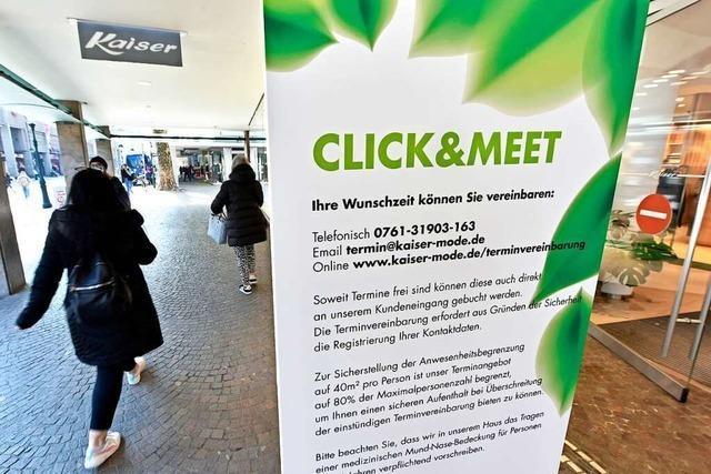 Einkaufen in Freiburg: Wie geht es weiter, wenn die Inzidenz über 50 bleibt?