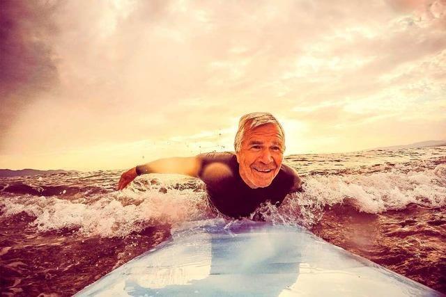 Surfen geht auch beim Frühstück