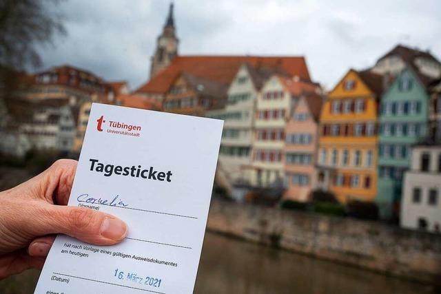 Tübingen testet sich frei: Theater, Kinos und Außengastronomie öffnen