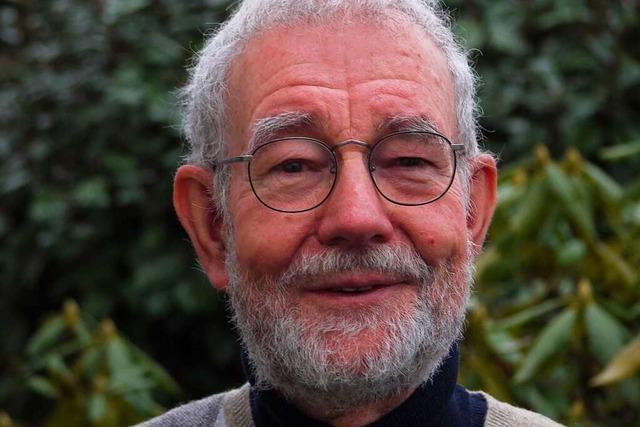 Die Neugierde lässt Ulrich Siemann auch als Pensionär nicht los