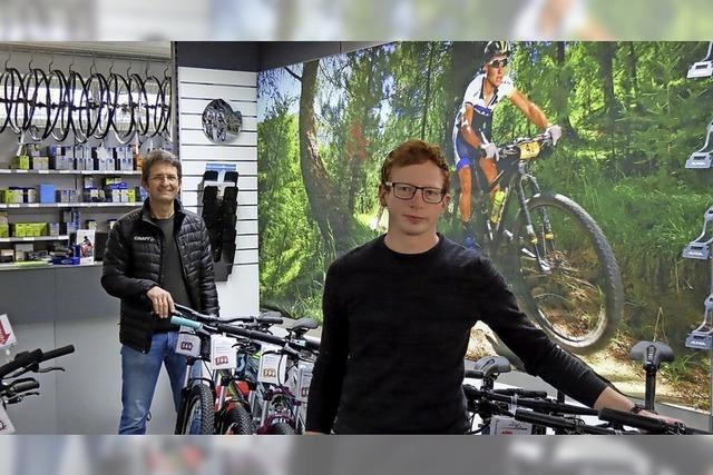 Fahrräder aus neuer Hand
