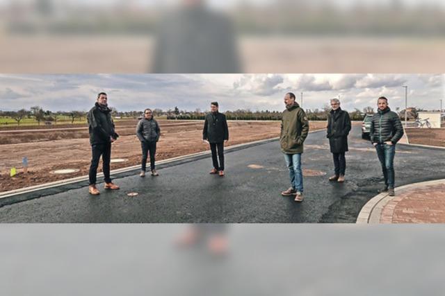Baugebiet in Altdorf übergeben