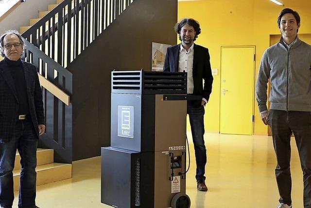 Edeka Kohler spendet Raumluftreiniger