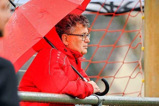 Vereinschef Dieter Bühler hofft auf Corona-Hilfe für den Bahlinger SC