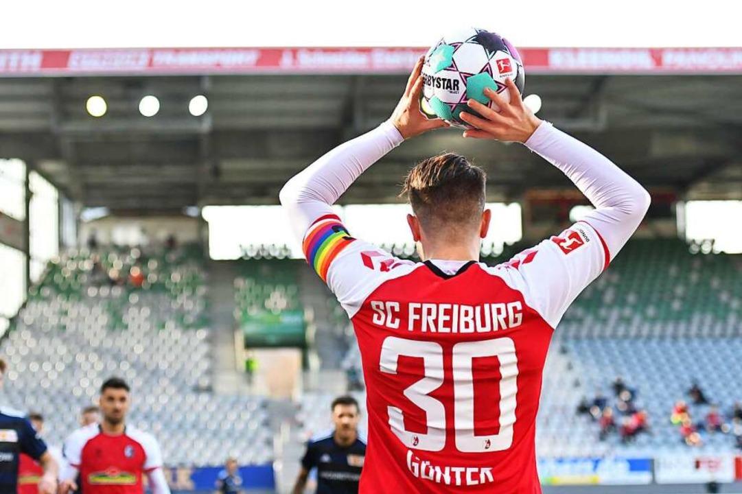 Leistungsträger, Vorbild und Kapitän: Christian Günter  | Foto: Achim Keller/SC Freiburg