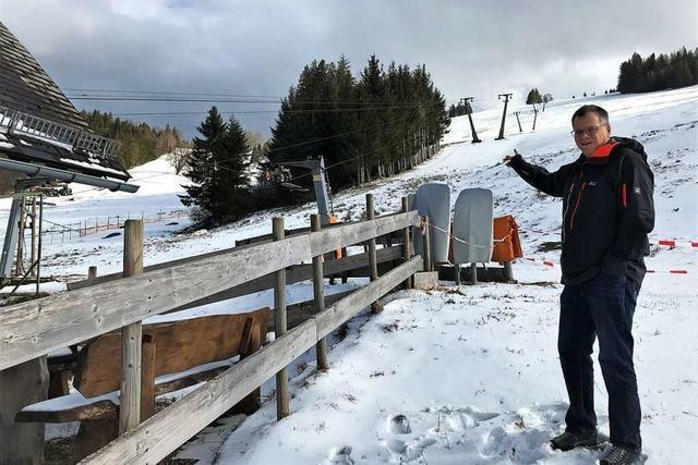 Skiliftbetreiber in Oberried: Viel Schnee und (fast) keine Einnahmen