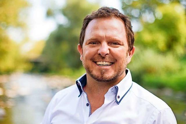 Der Freiburger Thomas Uhlendahl wirbt für Leitungswasser als Getränk
