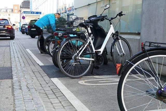 Am Hochrheincenter sollen mehr Stellplätze für Fahrräder entstehen