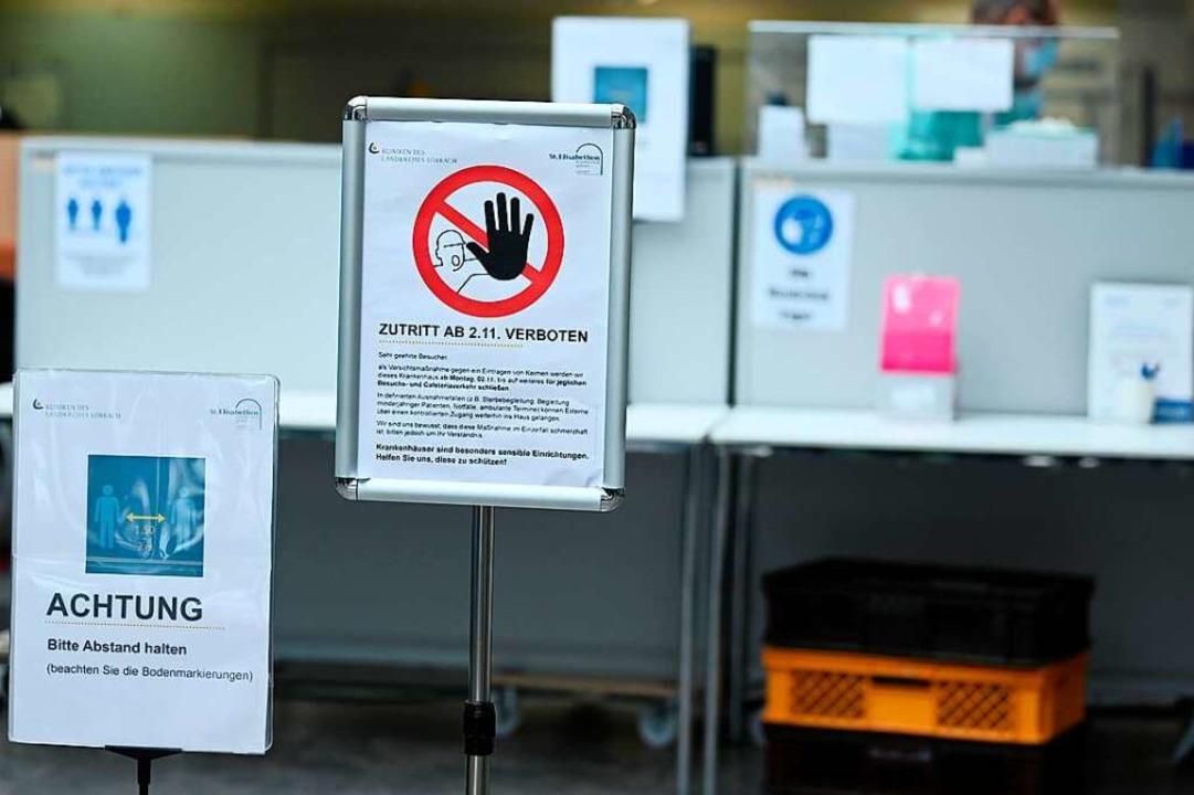 In der Pandemie hatten die Lörracher K...rozent weniger Patienten (Symbolbild).  | Foto: Jonas Hirt