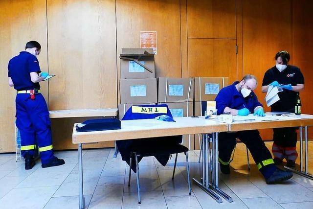 Kapazitäten des Testzentrums in Bad Säckingen nicht ausgeschöpft