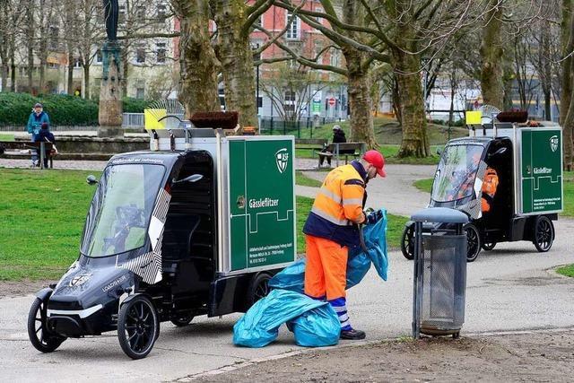 Freiburger Stadtreinigung testet elektrische