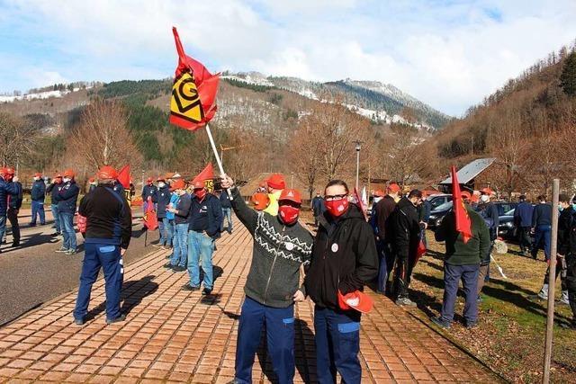 IG Metall ruft zu Warnstreiks in Wembach und Todtnau auf