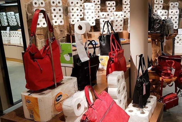 Der Klopapier-Flagship-Store zeigt die Verzweiflung der Einzelhändler