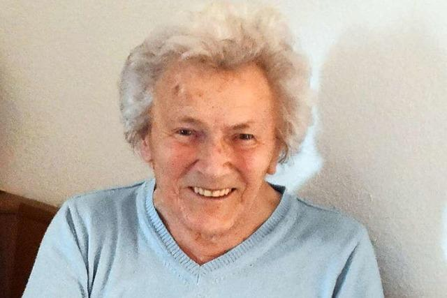 Erika Hummel aus Zunsweier wird heute 100 Jahre alt