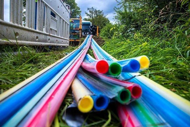Unternehmen verspricht Glasfaserkabel für alle Vörstetter innerhalb eines Jahres
