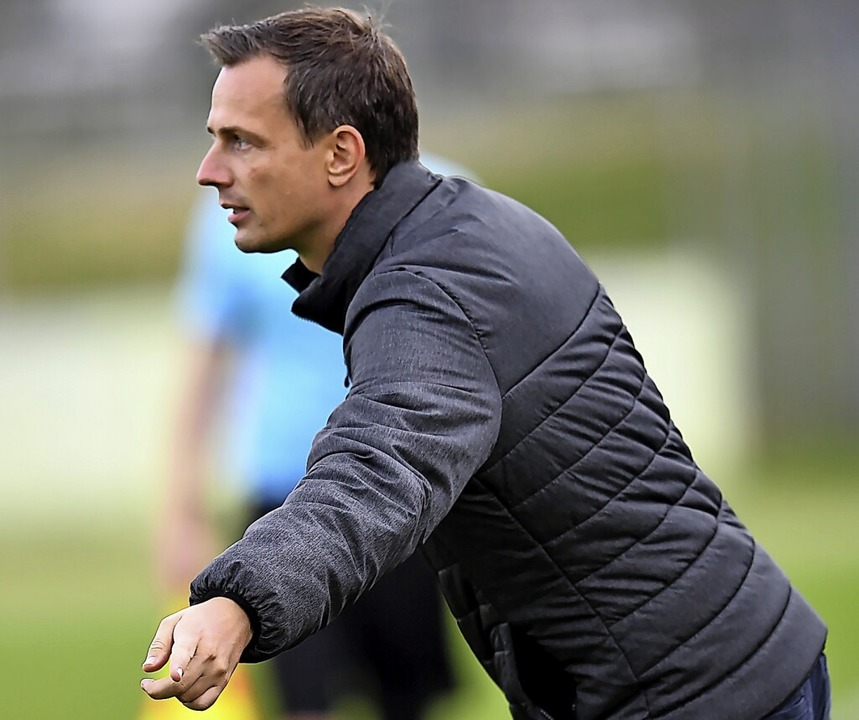 Christian Preußer, Trainer des Regionalliga-Teams des SC Freiburg   | Foto: Achim Keller