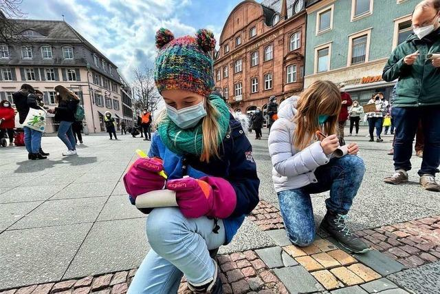 Fridays for Future Lörrach hat wieder fürs Klima gestreikt