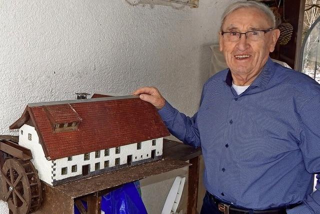 Täglich wurde eine Tonne Mehl in der Rickenbacher Mühle gemahlen