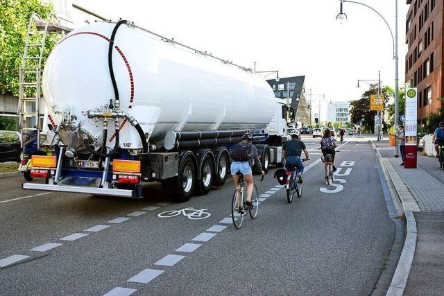 Freiburger Kreuzung wird nach tödlichem Unfall nun umgestaltet