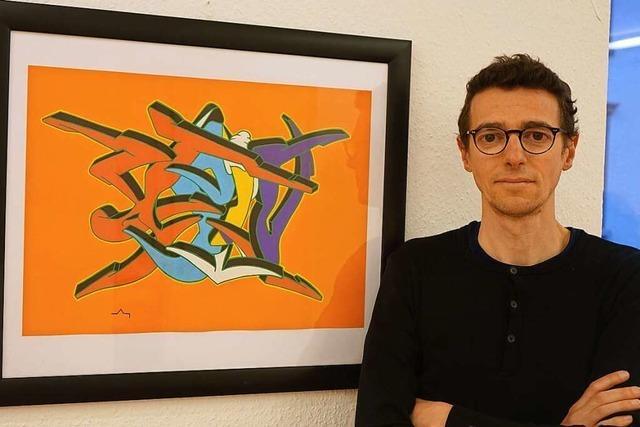 Im Ibenthaler-Haus Lörrach werden Werke von Martin Leccese gezeigt