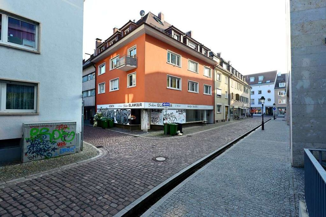 Das entmietete Haus an der Predigerstraße  | Foto: Ingo Schneider