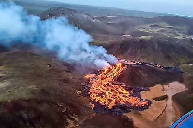 Vulkanausbruch auf Island - doch die Regierung bleibt gelassen