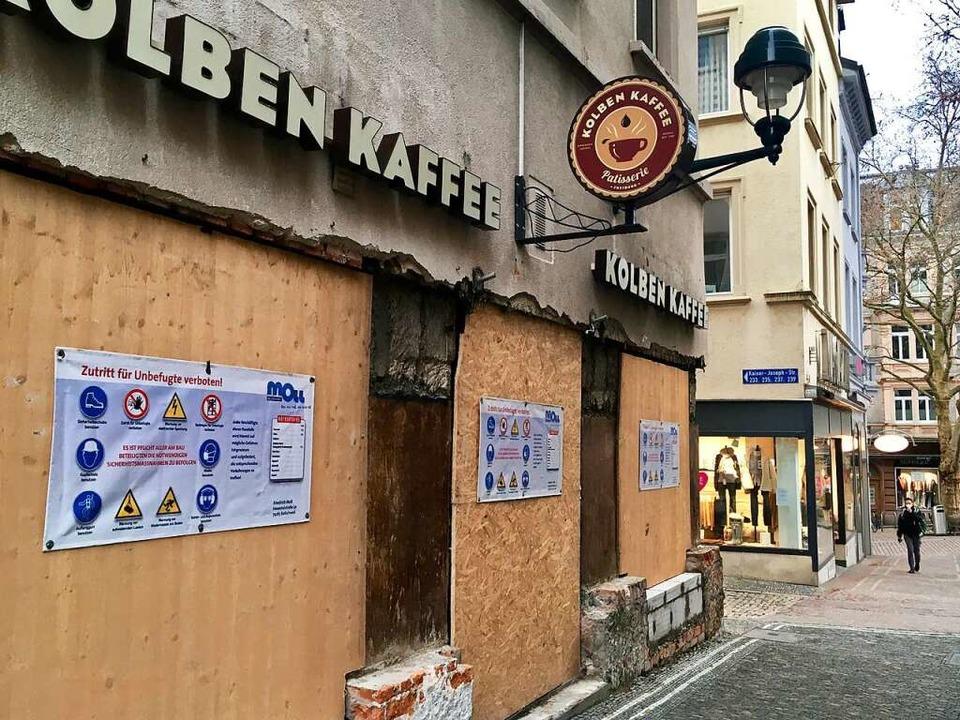 Das Café direkt am Martinstor soll im April öffnen.  | Foto: Anna-Dorothea Witte-Rotter