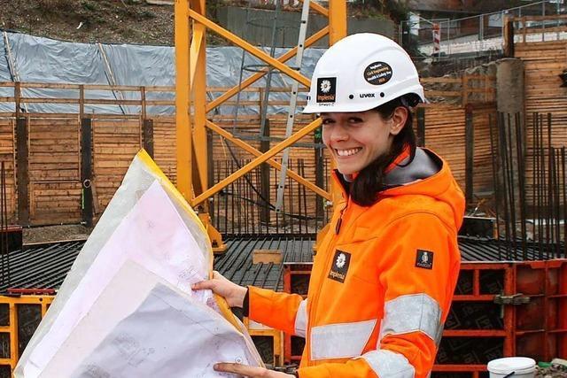 Frauen sind auf dem Bau oft allein unter Männern
