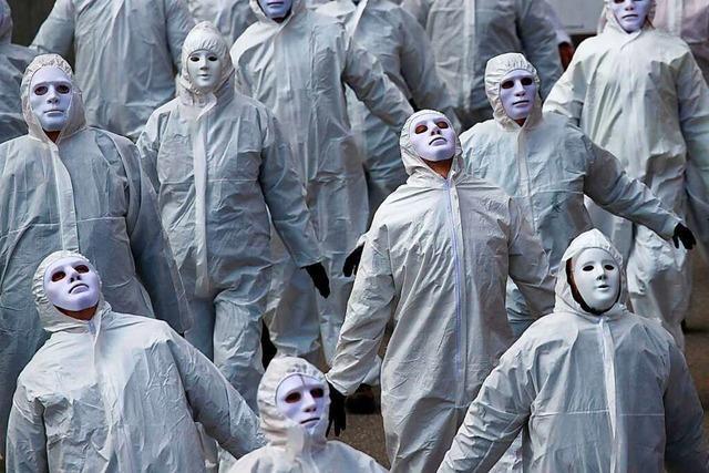 Rund 8000 Menschen demonstrieren in Liestal größtenteils ohne Schutzmasken