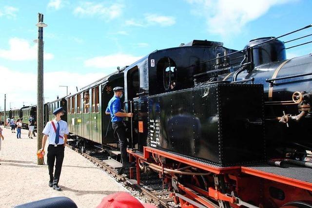 Kandertalbahn plant für einen Saisonstart Anfang Mai