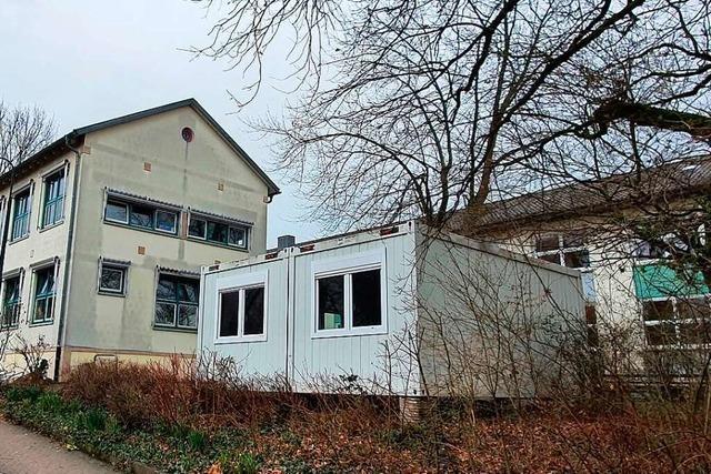 Soll ein Trakt der Schule runderneuert oder doch abgerissen werden?