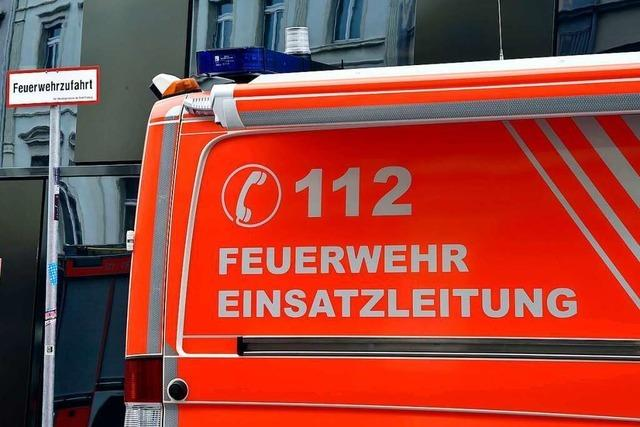 Zimmerbrand in Waldkircher Wohnanlage