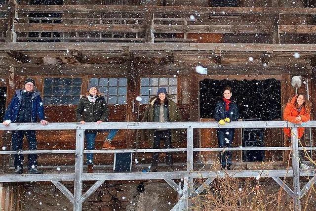 Der Windberghof in St. Blasien wird zur Kulisse für einen Spielfilm