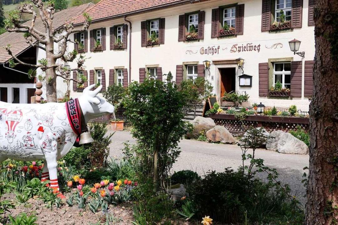 Ein junger Preis für ein Traditionshau...de mit dem Grünen Stern ausgezeichnet.  | Foto: Hans-Peter Müller
