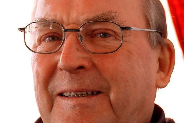 Fritz Poysel ließ sich durch den Großbrand 2008 nicht entmutigen