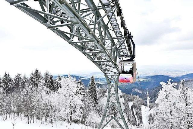 Die Schauinslandbahn ist nach drei Monaten wieder offen