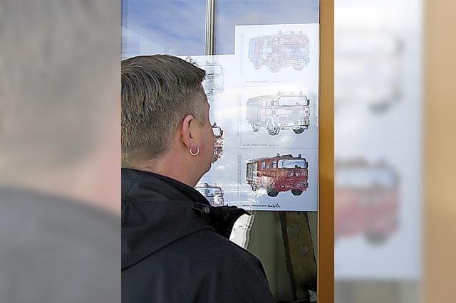 Malen für die Feuerwehr