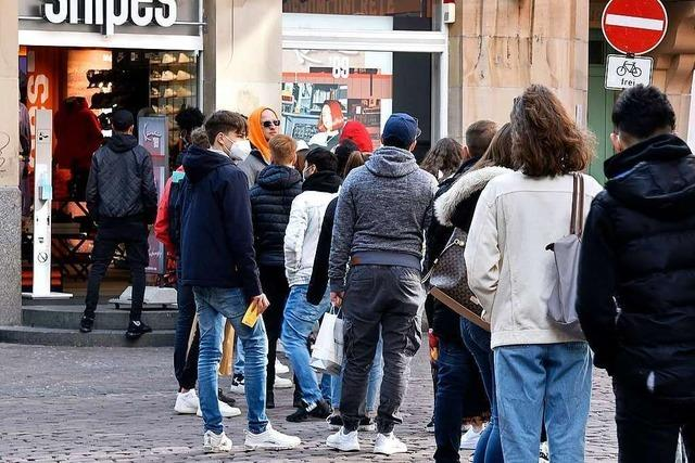 Einkauf ohne Anmeldung auch in Freiburg bald nicht mehr möglich