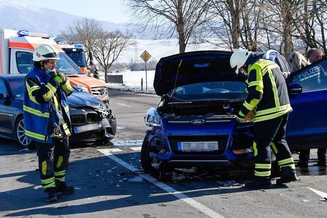 Weniger Unfälle als in den Vorjahren im Polizeirevier Müllheim